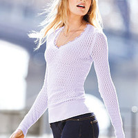 The V-neck Sweater - Feather Sweaters - Victoria's Secret