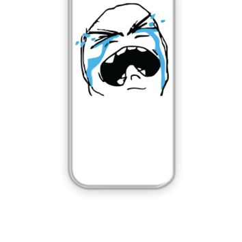 Crying rage face - iPhone 5&5s Case