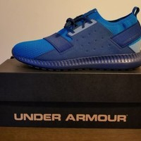 Under Armour Threadborne Shift Shoes - New Mens Size 10.5 Bayou Blue -