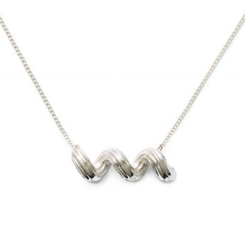 Sterling Silver Cellantini Pasta Necklace