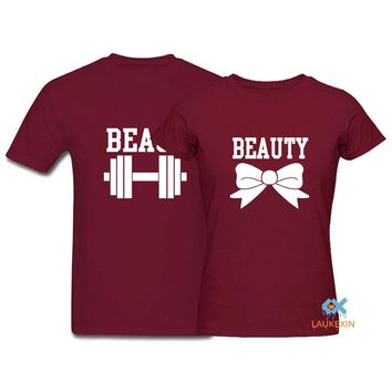 Couple T-Shirt Beauty and the Beast