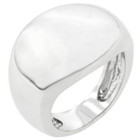 Liquid Silver Fashion Ring, size : 06