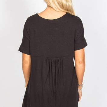 Pleated Back Tunic