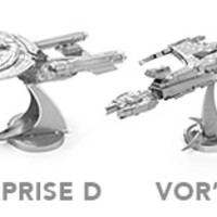 Star Trek Metal Earth Model Kits