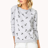 Anchors Away Sweater