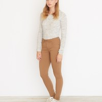 Caramel High Waist Colored Jegging