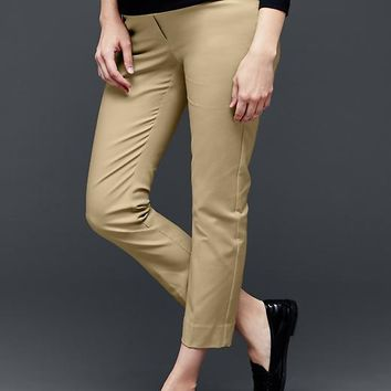 Gap Women Slim Cropped Pants Full Panel