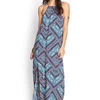 Abstract Geo Maxi Dress