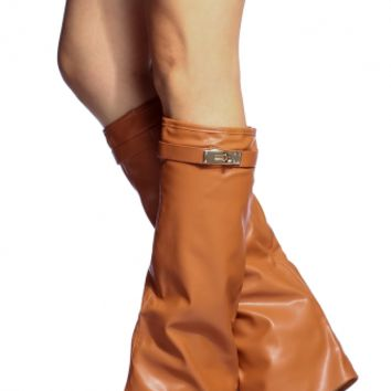 Camel Faux Leather Pointed Toe Boots @ Cicihot Boots Catalog:women's winter boots,leather thigh high boots,black platform knee high boots,over the knee boots,Go Go boots,cowgirl boots,gladiator boots,womens dress boots,skirt boots.