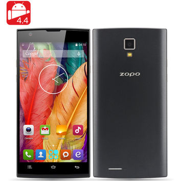 ZOPO ZP780 Smartphone - 5 Inch QHD Screen, MTK6582 Quad Core 1.3GHz CPU, 1GB RAM, 8GB Internal Memory, Android 4.4 OS