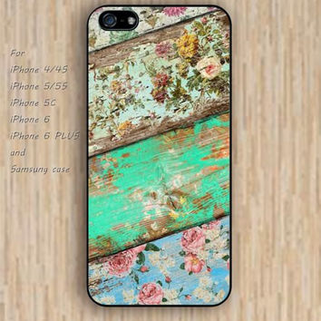 iPhone 5s 6 case watercolor Vintage wooden pattern phone case iphone case,ipod case,samsung galaxy case available plastic rubber case waterproof B548