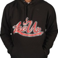 Tru Designz Men's Machine Gun Kelly MGK YZ Lace Up Hoodie-L-Black