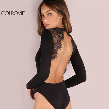 Exotic Dancer Romper Dancewear Net Lace One Piece Stripper womens lingerie
