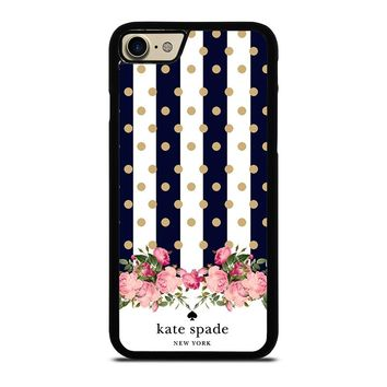 KATE SPADE NEW YORK POLKADOTS FLORAL iPhone 7 Case Cover