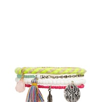 ASOS Beaded Charm Bracelet Pack