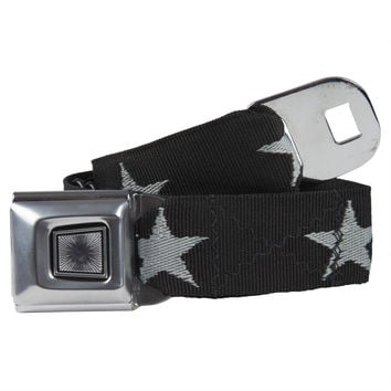 Ford Burst Seatbelt - Star Silver Web Belt