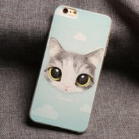 So Cute Cat iPhone 7 7 Plus & iPhone 6 6s Plus & iPhone x 8 Plus Case Personal Tailor Cover + Gift Box-474