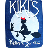 Studio Ghibli Kiki's Delivery Service Plush Throw