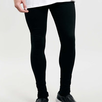 Black Super Spray On Skinny Jeans - TOPMAN