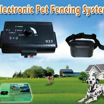 Pet Dog Fence System with Electric Shock Collar