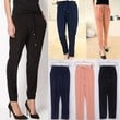 Slim Women's Chiffon Elastic Waist Drawstrings Harem Pants Trousers Candy Color