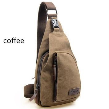 Fashion Man Shoulder solid Canvas Bag Men Canvas Messenger Casual Diagonal Backpack Travel Military Bag KJG3860#bag