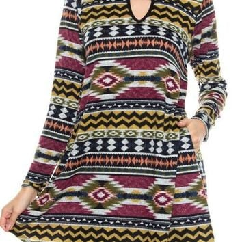 Sierra Madre Keyhole Dress