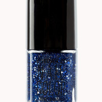 Blue Glam Nail Polish