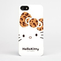 Hello Kitty iPhone 5 Hard Case: Leopard