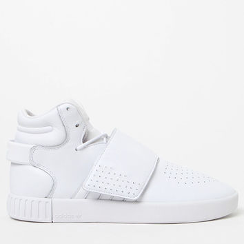 adidas Tubular Invader Strap White Shoes at PacSun.com