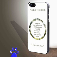 Pierce The Veil Song Lyrics art for iphone 4/4s/5/5s/5c/6/6+, Samsung S3/S4/S5/S6, iPad 2/3/4/Air/Mini, iPod 4/5, Samsung Note 3/4 Case **
