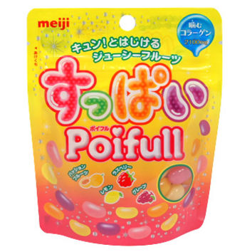 Soft Chewy Candy - Meiji - Meiji Poifull Mixed Fruit Jelly Beans 1.86 oz | AsianFoodGrocer.com, Shirataki Noodles, Miso Soup