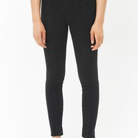 Super Skinny High-Rise Banded Jeans