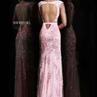 Sherri Hill 9710 at Prom Dress Shop