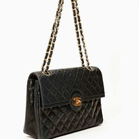 Vintage Chanel Quilted Leather Chain Purse - SOLD OUT