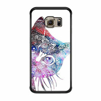 aztec cat in rainbow color samsung galaxy s6 s6 edge s3 s4 s5 cases
