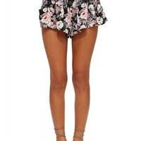Holly Tie Front Floral Shorts