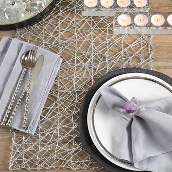 Wire Nest Table Runner | 72-Inch