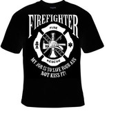 firefighters fire rescue Tshirts cool funny t shirt