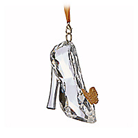 Cinderella Slipper Ornament - Live Action Film