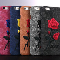 Iphone 6/6s IPHONE7/7P Embroidery Iphone Phone Case [11686939663]