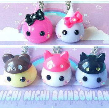 Hoppe Chan Creature Silicone Kawaii Necklace or Keyring