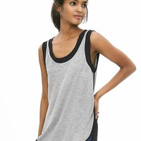 Banana Republic Womens Mixed Media Cutaway Tank