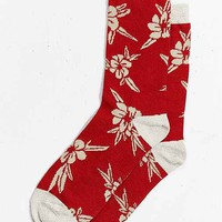 Hawaiian Floral Sock