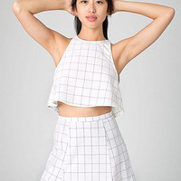 The Grid Print Lolita Mini Skirt