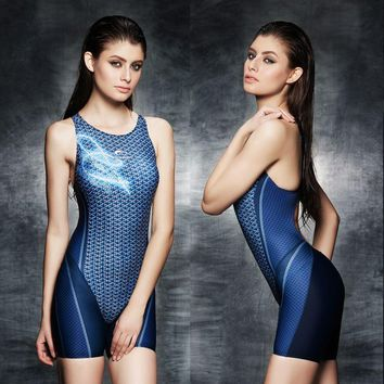 2017 Sexy One Piece Women Swimwear Professional Plus Size Competition Swimsuit Sports Body Suit Brand High Quality Bathing Suit