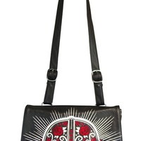 Darth Vader Sugar Skull Crossbody Bag | Blame Betty