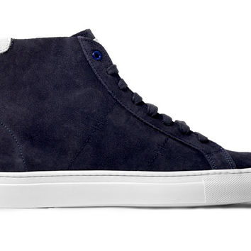 The ECOLE Royale - Navy Suede