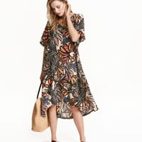 H&M Patterned Viscose Dress $19.99