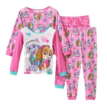 Paw Patrol Skye & Everest Pajama Set - Toddler Girl, Size: